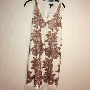 NWT 💕 JCREW linen sequin dress